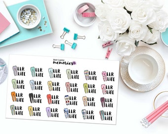 LLR LIFE Paper Planner Stickers!