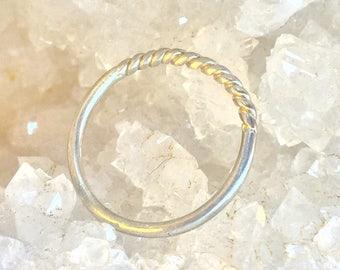 Half Twist Ring