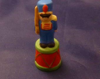 Vintage Enesco Collectible Soldier Thimble, 1980s