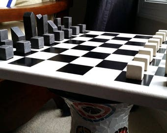 Stone Chess Board only