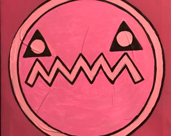 Pink Me with Triangle Eyes (2018)