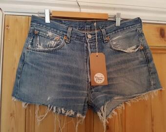 Vintage Levi's Cut Off Denim Shorts