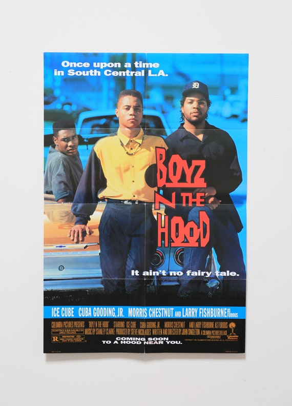 Original Theatrical One Sheet Film Poster - Boyz in the Hood