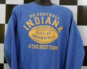 Vintage US Football Infiana city of indianapolis sweatshirt
