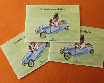 """2 part """"with Rosi in Amuuhrika"""" cow book, children's books, children's story, cow, Alternatively, German, reading bedtime story, Rosi, funny"""