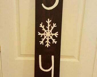 Wood Joy Sign, Christmas Decor, Primitive Decor, Wood Signs, Wood Signs Christmas, Primitive Christmas, Farmhouse Christmas