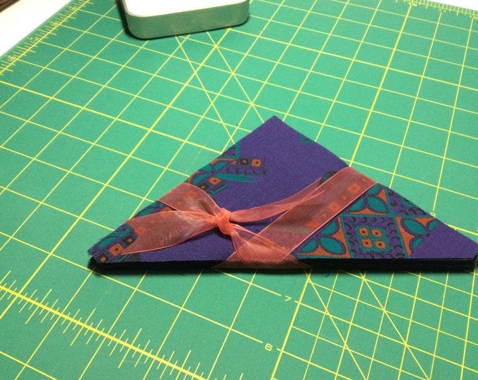 32 5 1/2 inch Half Square Triangles