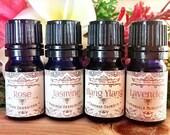 Floral Oil Gift Set - Ros...