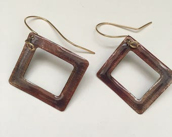 Enameled Copper Danglers