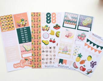 Fruit Salad | Sticker Kit | Personal size