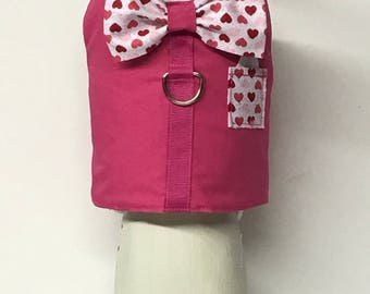 Valentine's Day Dog Harness Vest, Dog Harness Vest, Cat Harness Vest, Dog Vest, Dog Clothes, Dog Clothing, Boy Dog Clothes