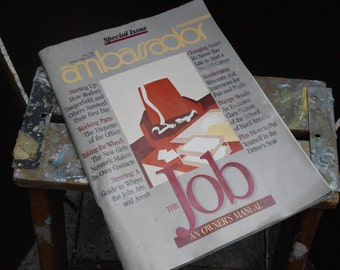 1980 TWA Ambassador Magazine