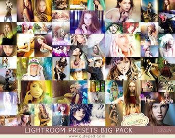 340 Pro Adobe Lightroom Presets Bundle - Lightroom Presets for Adobe Lightroom 4, Lightroom 5, Lightroom 6 and Lightroom CC -CPZ039