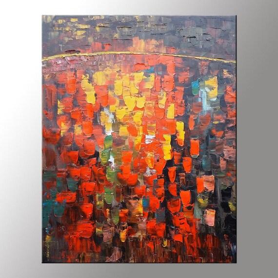 Große Kunst Leinwand Gemälde großes Ölgemälde Leinwand