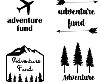 Adventure Fund - Vinyl Decal