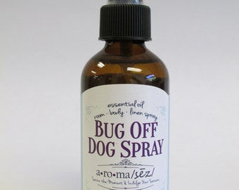 "All Natural ""Bug Off"" Dog Pest Spray"