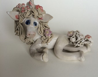 Princess Unicorn for Fairy Garden or Indoor Display