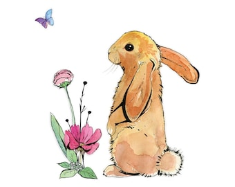 Bunny & Butterfly