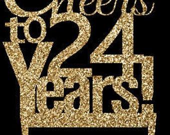 24th Birthday Etsy