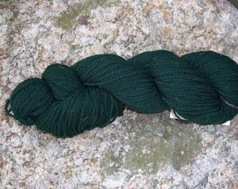 Forset Green- DK weight- Border Leicester yarn- 100% wool