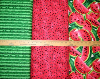 Fruit Watermelon Cotton Fabric by Timeless Treasures! [Choose Your Cut Size]
