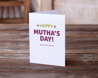 Mother's Day Card | Card for Mom | Funny Card for Mom | Card for Wife | Funny Mum Card | Friend Card | Card for Mom to Be | To Mom | For Mom
