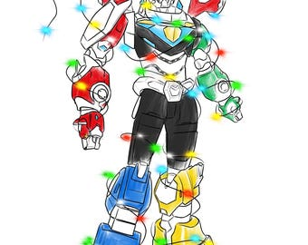 Form Voltron Holiday card