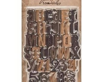 LETTERPRESS LETTERs from TIM HOLTZ - only one left !