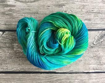 Es-Ca-Pe - Hand Dyed Superwash Merino Yarn - Sport Weight Yarn - Hand Dyed Yarn
