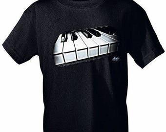 Rock You music t shirt key S M L XL XXL