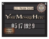 Personalized Police Line Up Sign Printables Custom Bachelorette Party Event Date Photo Booth Prop Prohibition Speakeasy 1920s Gatsby Era