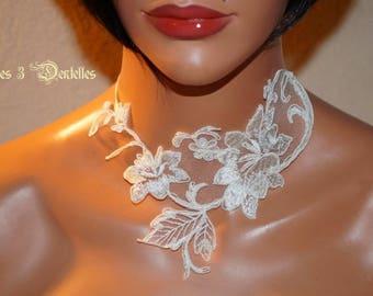 Bridal ivory lace * 3 lace *.