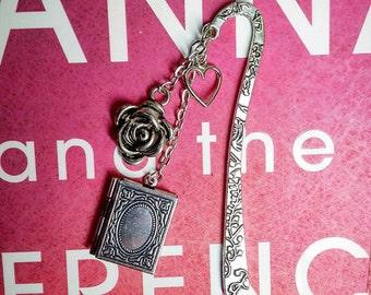 Beauty Metal Bookmark