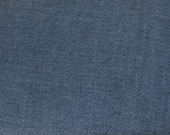 Solid Navy Blue Upholstery Fabric by The Yard