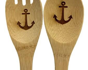 Anchor Bamboo Spoon and Spork Set