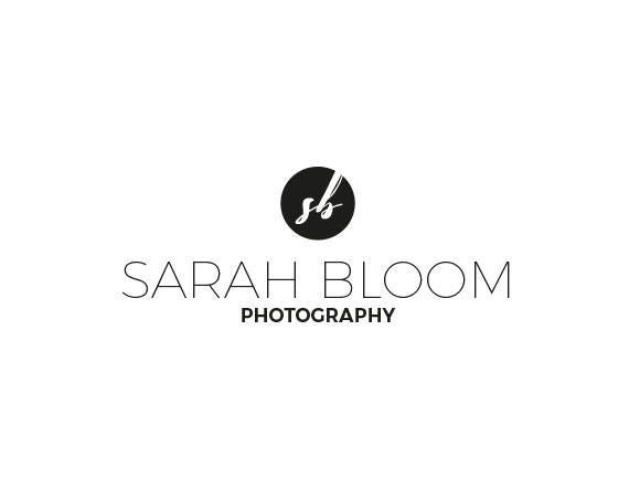 Minimalist Logo Photography Watermark Typography