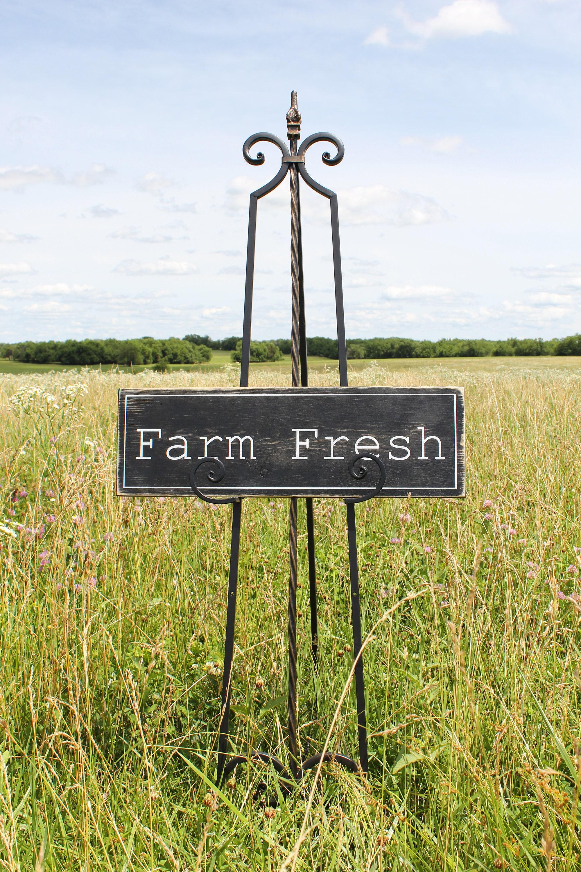 Farm Fresh Sign/Farmhouse Sign/Farmhouse Kitchen Sign/Rustic
