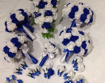 Wedding foam flower package