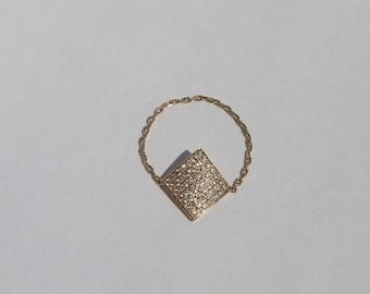 Diamonds on Diamonds Chain Ring