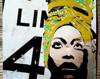 Erykah Badu - street art - music art