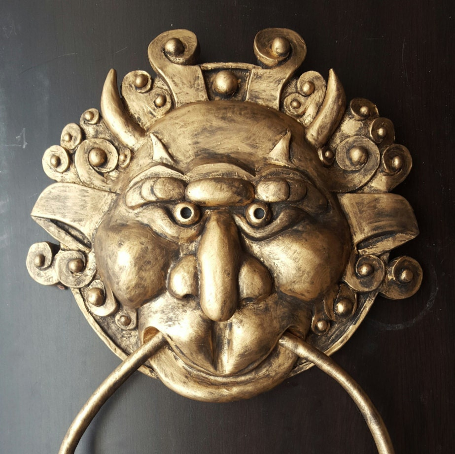 🔎zoom & The Labyrinth Right Door Knocker
