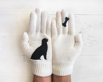 Pet Gloves, Dog Gloves, Animal Gift, Dog Lovers Gift, Pet Gift, Animal Gloves, Pet Lovers Gift, Wildlife Gift, Labrador Lover, Sales Event