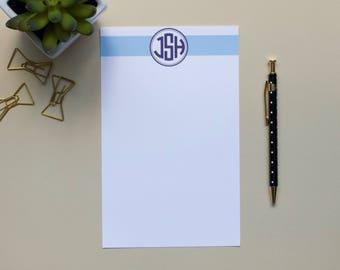 Personalized Monogram Notepad