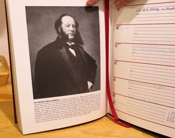 ILLUSTRATED HISTORY of 1885 American Heritage Century Desk Calendar 1985