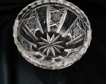 Crystal Condiment Dish