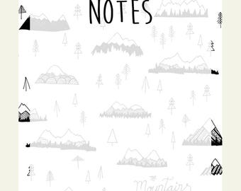 Mountains are Calling Notepad
