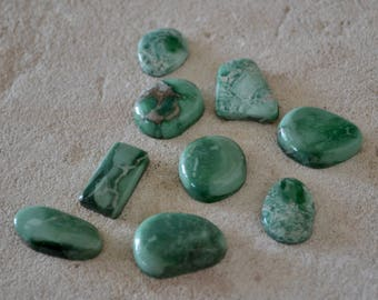 Lucin Variscite Cabochon Set Destash