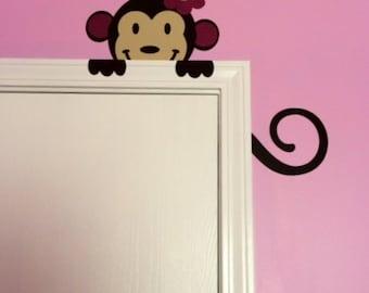 Monkey Nursery Vinyl Decal