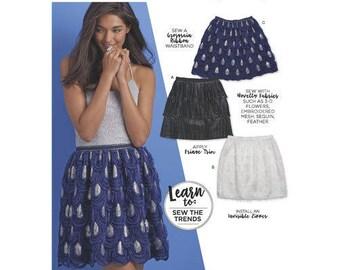 Simplicity Pattern 8515 Misses' Novelty Mini Skirts