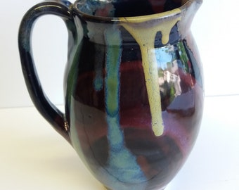 Colorful pitcher, rainbow!